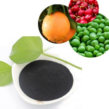 Super Organic Fertilizer Humic Acid Powder Fertilizer Potassium Humate Fulvic Acid Powder 98% Flake